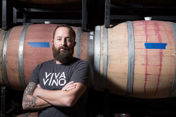 Jasper Riddle of Noisy Water Winery