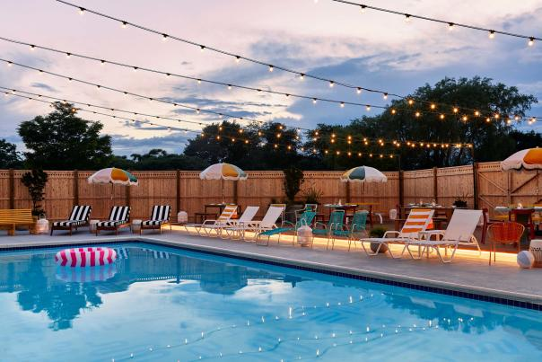 The Wayfinder Hotel Pool