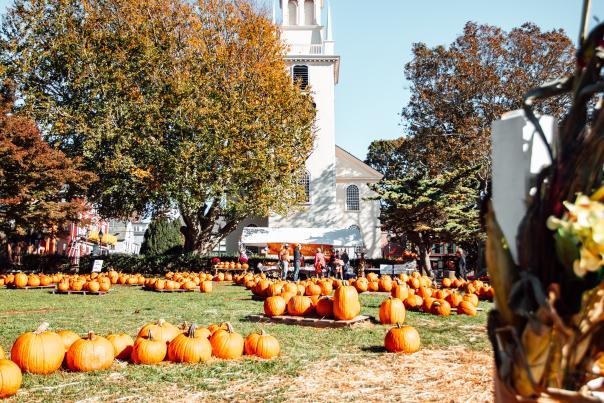 Trinity Church Pumpkin Patch