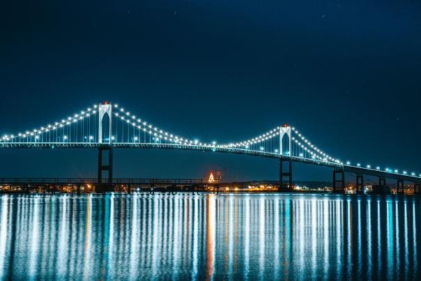 Jamestown Holiday Bridge