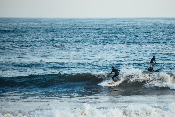 surfing corey faviano