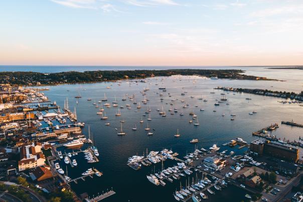 Summer 2021 Harbor Aerial