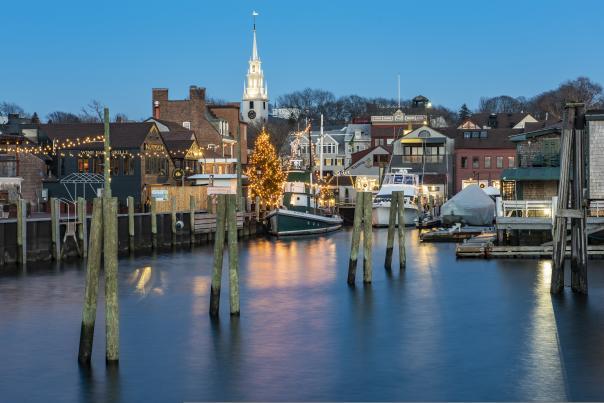 Bowen's Wharf Christmas Downtown