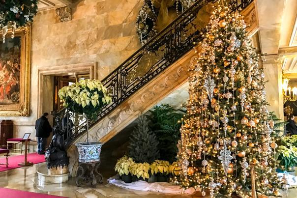 Marble House Christmas