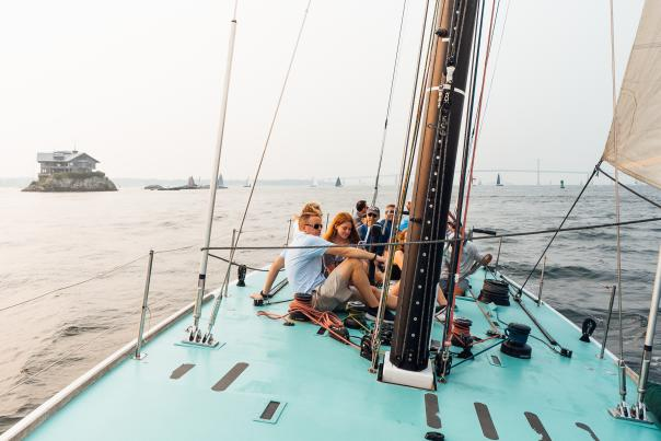 Sailing in Newport RI