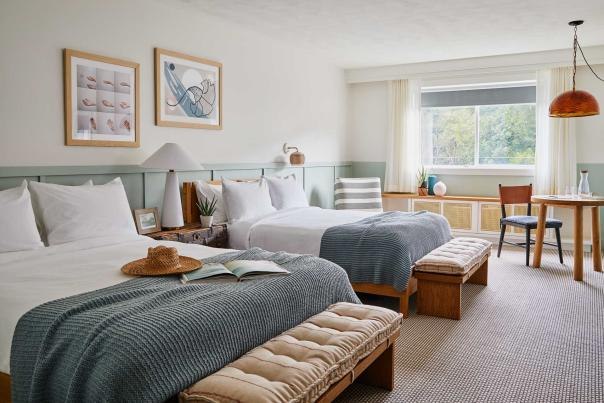 A Room At The Wayfinder Hotel In Newport, RI