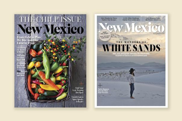 New Mexico Magazine covers