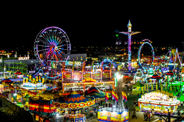 New Mexico State Fair Midway