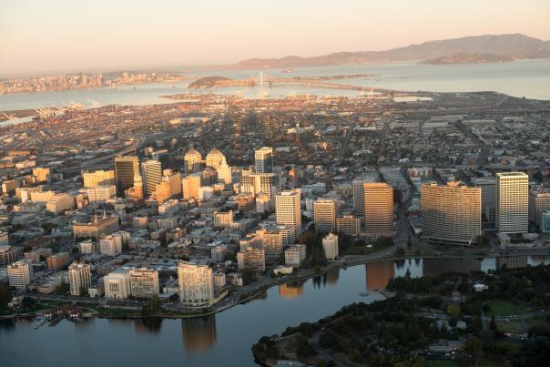 Oakland Ariel View
