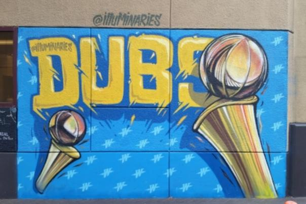 Warriors Mural 2017 - Marriott