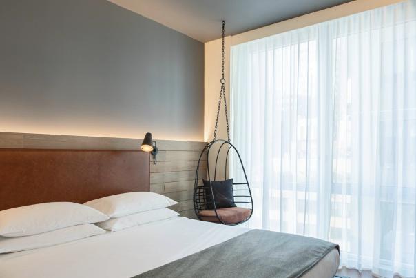 Moxy Hotel Room