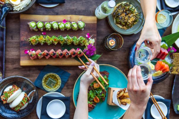 Seito Sushi food overview