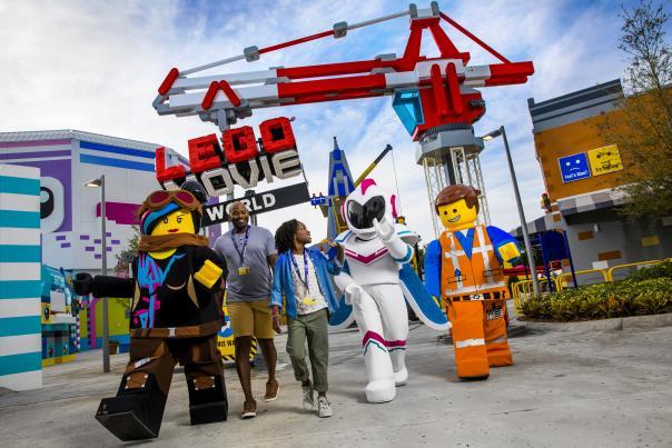 The LEGO Movie World at LEGOLAND Florida Resort.