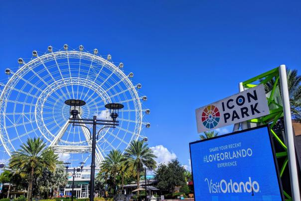 The Wheel at ICON Park #LoveOrlando