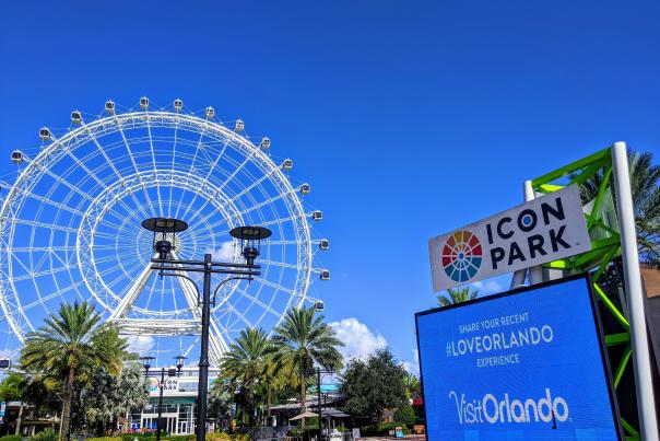 The Wheel at ICON Park #LoveOrlando