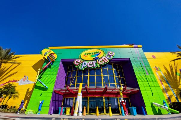 entrance to Crayola Experience