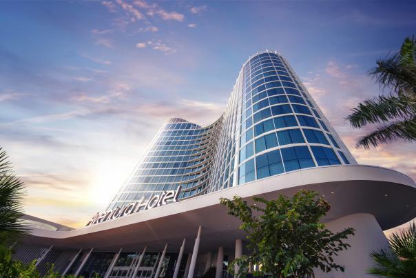 Universal's Aventura Hotel exterior