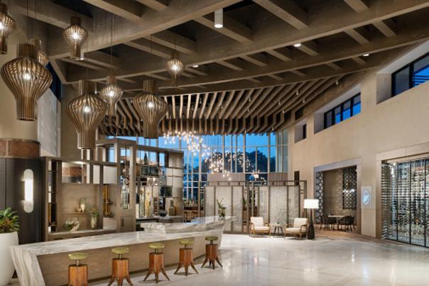 JW Marriott Orlando Bonnet Creek Resort & Spa lobby