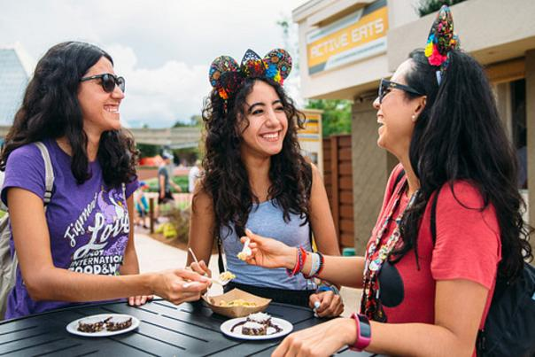 The 24th Epcot International Food & Wine Festival is an opportunity for friends and family to engage in culinary adventures. Held Aug. 29-Nov. 23, 2019, the event features more than 30 global marketplaces showcasing edible and drinkable delights.
