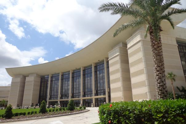 The Orange County Convention Center West building