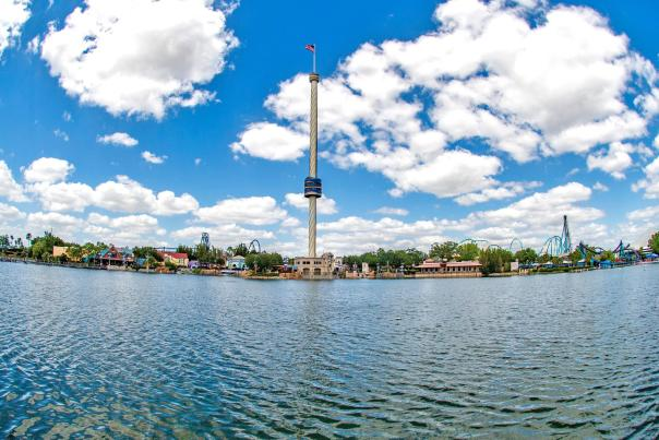 SeaWorld Orlando's sky tower