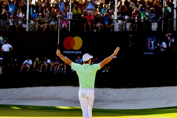 Arnold Palmer Invitational presented by Mastercard Rory McIlroy arms raised