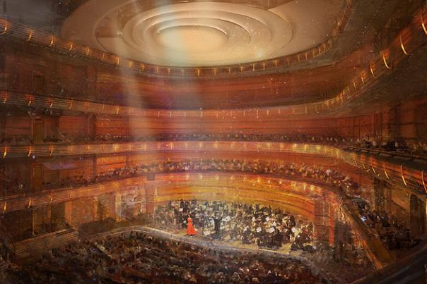 Dr. Phillips Center for the Performing Arts rendering of Steinmetz Hall