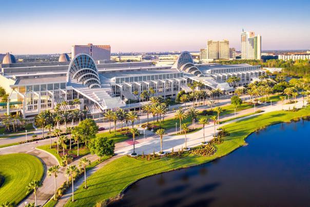 Orange County Convention Center on International Drive