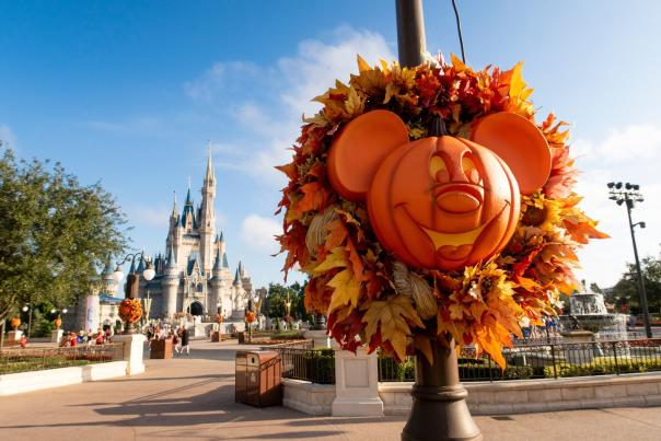 Influencer Katie Ellison and her family visit Mickey's Not So Scary Halloween Party at Walt Disney World