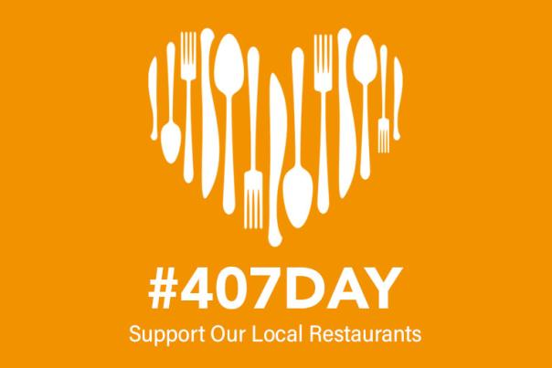 2021 #407Day Twitter social graphic