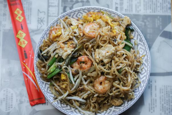 Char Kway Teow at Hawkers for Asian Pacific American Heritage Month (AAPI) blog by guest blogger Ricky Ly