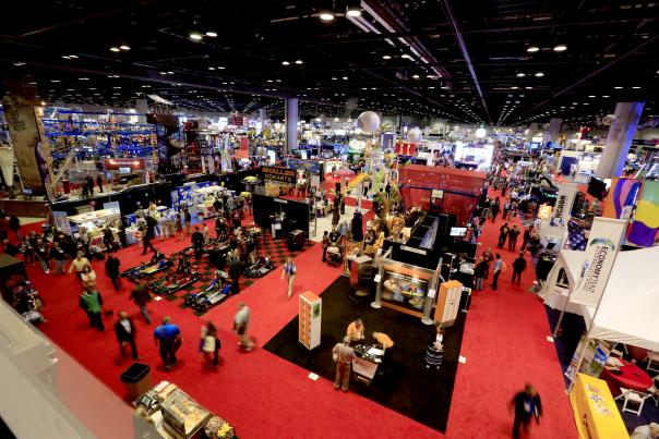 IAAPA (International Association of Amusement Parks and Attractions) event at the Convention Center