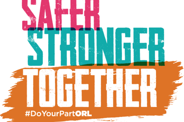Do Your Park Orlando Safer Stronger Together logo