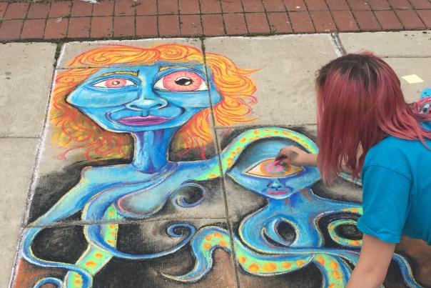 Oshkosh Chalk Walk