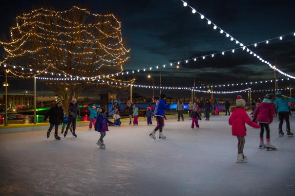 Holiday Ice Skating