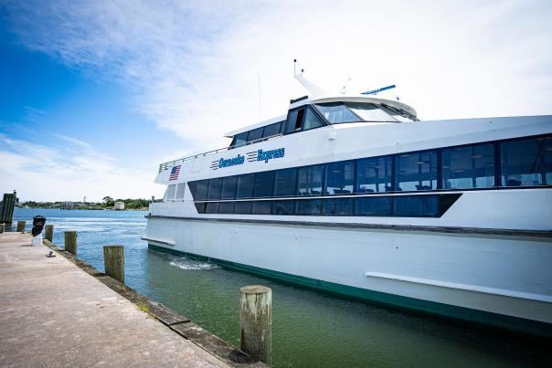 ocracoke express ferry