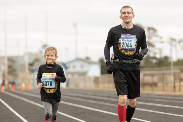 OBX Marathon runners
