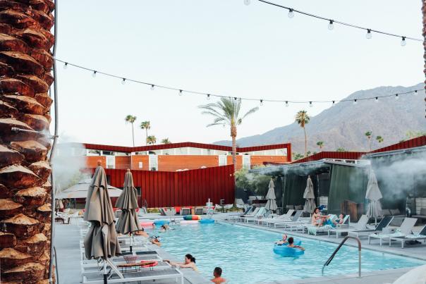 Pool at ARRIVE Palm Springs