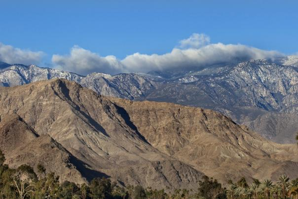 Greater Palm Springs mountains