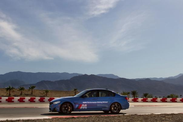 bmw driving perfomance center scenic web