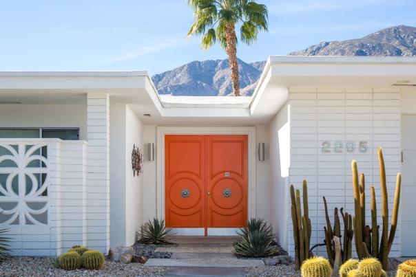 design orange door