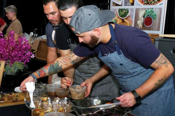 Grand Tasting at Food and Wine Palm Desert