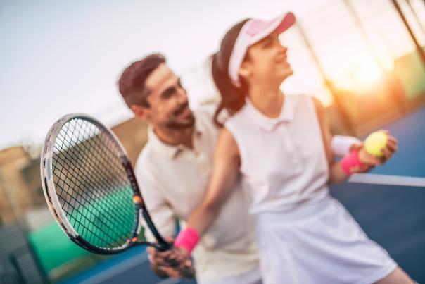 Tennis Couple iStock