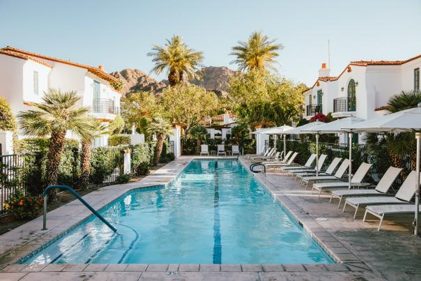 Zoom with a view at one of many pools at La Quinta Resort