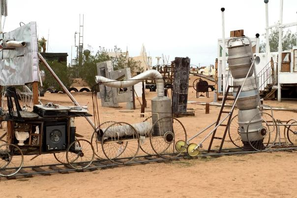 noah purifoy desert art museum 3 train 2