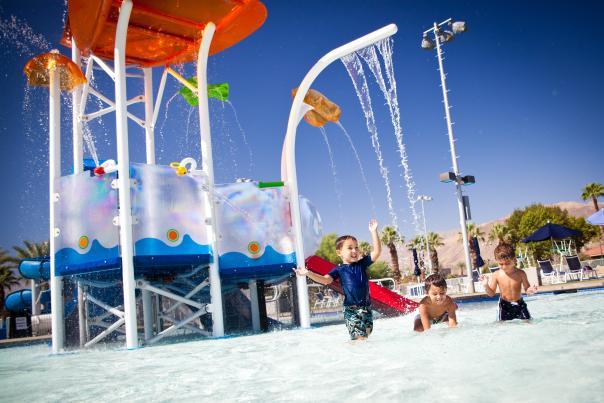 palm desert aquatic center splash playground pool