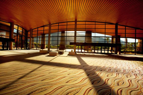 pscc lobby and mountain views