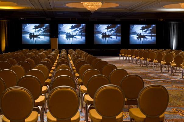reniw ballroom crystal theater setup