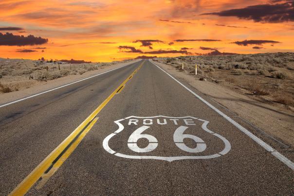 route66 highwaysunrise web
