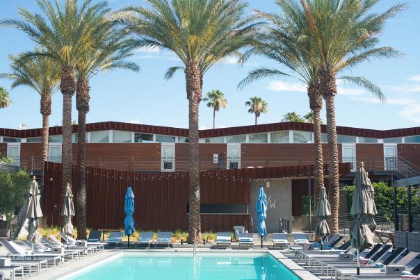 Arrive Pool in Palm Springs